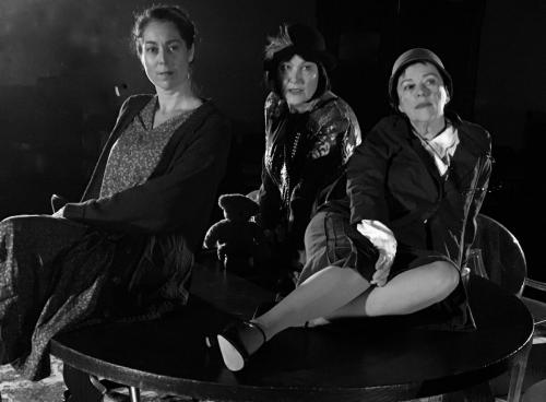 Three Dorothy Walk into the Sydney Fringe Fest . . . and completely inspire audiences! Dorothy Day (Julie Moore), Dorothy Parker (Alison Chambers) & Dorothy L.Sayers (Jane Bergeron).
